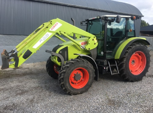 Claas 330C With Claas FL100 Loader